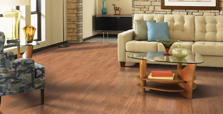 Benson's Interiors features many well-known names in hardwood flooring.