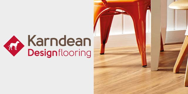 Featuring luxury vinyl inspired by wood and stone from Karndean Design Flooring.